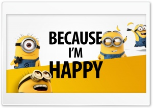 Because_Im_Happy HD Wide Wallpaper for Widescreen