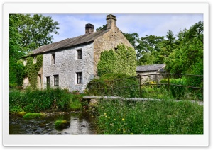 Beckside Cottage HD Wide Wallpaper for Widescreen