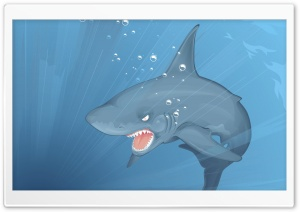 Bed Shark HD Wide Wallpaper for Widescreen