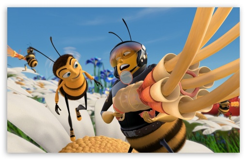 Bee Movie 4 UltraHD Wallpaper for Wide 16:10 5:3 Widescreen WHXGA WQXGA WUXGA WXGA WGA ; 8K UHD TV 16:9 Ultra High Definition 2160p 1440p 1080p 900p 720p ; Mobile 5:3 16:9 - WGA 2160p 1440p 1080p 900p 720p ;