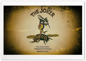 Bee Playing Cards Joker Ultra HD Wallpaper for 4K UHD Widescreen desktop, tablet & smartphone