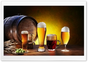 Beer - Pivo HD Wide Wallpaper for Widescreen