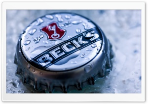 Beer Bottle Cap HD Wide Wallpaper for Widescreen