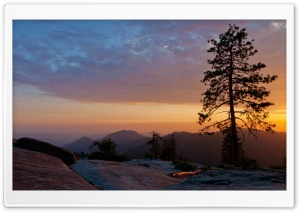 Beetle Rock, Sequoia National Park, California HD Wide Wallpaper for Widescreen