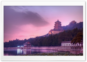 Beijing At Dusk HD Wide Wallpaper for 4K UHD Widescreen desktop & smartphone