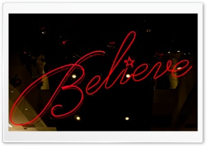 Believe HD Wide Wallpaper for Widescreen