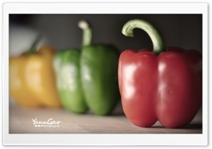 Bell Peppers HD Wide Wallpaper for Widescreen