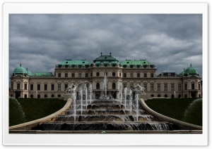 Belvedere Palace HD Wide Wallpaper for Widescreen