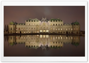 Belvedere Palace Vienna HD Wide Wallpaper for Widescreen