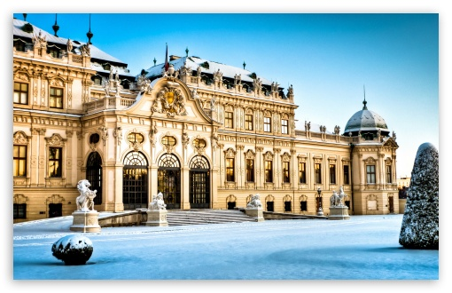 Belvedere Palace, Vienna, Austria, Winter ❤ 4K UHD Wallpaper for Wide 16:10 5:3 Widescreen WHXGA WQXGA WUXGA WXGA WGA ; 4K UHD 16:9 Ultra High Definition 2160p 1440p 1080p 900p 720p ; Standard 4:3 5:4 3:2 Fullscreen UXGA XGA SVGA QSXGA SXGA DVGA HVGA HQVGA ( Apple PowerBook G4 iPhone 4 3G 3GS iPod Touch ) ; iPad 1/2/Mini ; Mobile 4:3 5:3 3:2 16:9 5:4 - UXGA XGA SVGA WGA DVGA HVGA HQVGA ( Apple PowerBook G4 iPhone 4 3G 3GS iPod Touch ) 2160p 1440p 1080p 900p 720p QSXGA SXGA ;