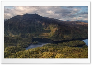 Ben Venue mountain, Trossachs, Scotland HD Wide Wallpaper for Widescreen
