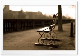 Bench HD Wide Wallpaper for Widescreen