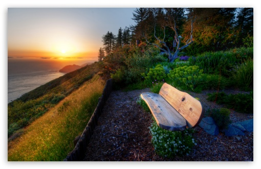 Bench With Sea View, Sunset HD wallpaper for Wide 16:10 5:3 Widescreen WHXGA WQXGA WUXGA WXGA WGA ; HD 16:9 High Definition WQHD QWXGA 1080p 900p 720p QHD nHD ; UHD 16:9 WQHD QWXGA 1080p 900p 720p QHD nHD ; Standard 4:3 5:4 3:2 Fullscreen UXGA XGA SVGA QSXGA SXGA DVGA HVGA HQVGA devices ( Apple PowerBook G4 iPhone 4 3G 3GS iPod Touch ) ; Tablet 1:1 ; iPad 1/2/Mini ; Mobile 4:3 5:3 3:2 16:9 5:4 - UXGA XGA SVGA WGA DVGA HVGA HQVGA devices ( Apple PowerBook G4 iPhone 4 3G 3GS iPod Touch ) WQHD QWXGA 1080p 900p 720p QHD nHD QSXGA SXGA ; Dual 16:10 5:3 16:9 4:3 5:4 WHXGA WQXGA WUXGA WXGA WGA WQHD QWXGA 1080p 900p 720p QHD nHD UXGA XGA SVGA QSXGA SXGA ;