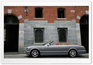 Bentley Azure T Convertible 3 HD Wide Wallpaper for Widescreen