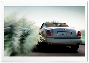 Bentley Azure T Convertible 4 HD Wide Wallpaper for Widescreen