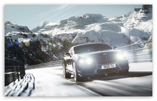 Bentley Continental Gt 4k Hd Desktop Wallpaper For Wide Ultra