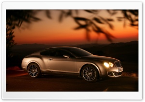 Bentley Continental GT Ultra HD Wallpaper for 4K UHD Widescreen desktop, tablet & smartphone