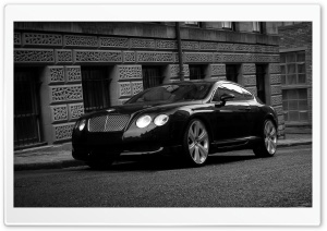 Bentley Continental GT Black HD Wide Wallpaper for Widescreen
