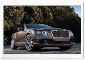 Bentley Continental GT Speed Convertible HD Wide Wallpaper for 4K UHD Widescreen desktop & smartphone