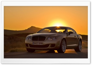 Bentley Continental GT Sunset HD Wide Wallpaper for Widescreen
