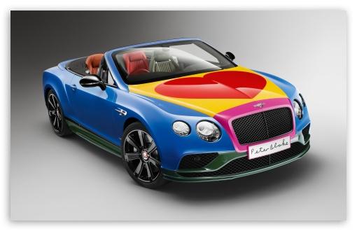 Bentley Continental GT V8 S convertible Pop Art by Peter Blake 2016 UltraHD Wallpaper for Wide 16:10 5:3 Widescreen WHXGA WQXGA WUXGA WXGA WGA ; UltraWide 21:9 24:10 ; 8K UHD TV 16:9 Ultra High Definition 2160p 1440p 1080p 900p 720p ; UHD 16:9 2160p 1440p 1080p 900p 720p ; Standard 4:3 5:4 3:2 Fullscreen UXGA XGA SVGA QSXGA SXGA DVGA HVGA HQVGA ( Apple PowerBook G4 iPhone 4 3G 3GS iPod Touch ) ; iPad 1/2/Mini ; Mobile 4:3 5:3 3:2 16:9 5:4 - UXGA XGA SVGA WGA DVGA HVGA HQVGA ( Apple PowerBook G4 iPhone 4 3G 3GS iPod Touch ) 2160p 1440p 1080p 900p 720p QSXGA SXGA ;