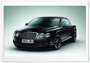 Bentley Continental GTC Black HD Wide Wallpaper for 4K UHD Widescreen desktop & smartphone