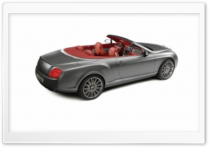 Bentley Convertible 5 HD Wide Wallpaper for Widescreen