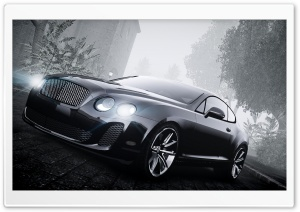 Bentley Video Game Screenshot HD Wide Wallpaper for Widescreen