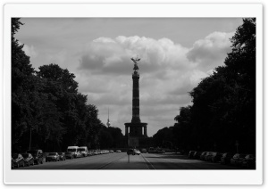 Berlin Black And White HD Wide Wallpaper for 4K UHD Widescreen desktop & smartphone