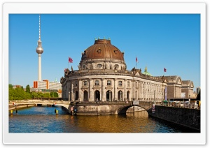 Berlin Museum Island HD Wide Wallpaper for 4K UHD Widescreen desktop & smartphone