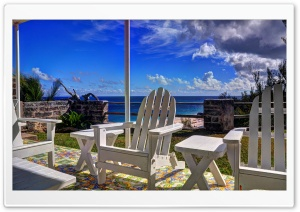 Bermuda HDR HD Wide Wallpaper for Widescreen
