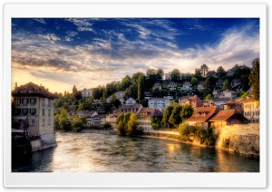 Bern HDR HD Wide Wallpaper for Widescreen