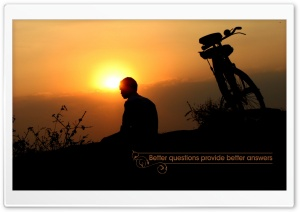 Better Questions Provide Better Answers HD Wide Wallpaper for Widescreen