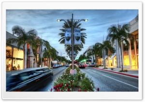 Beverly Hills HD Wide Wallpaper for 4K UHD Widescreen desktop & smartphone