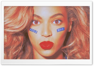 Beyonce February 3 2013 HD Wide Wallpaper for Widescreen