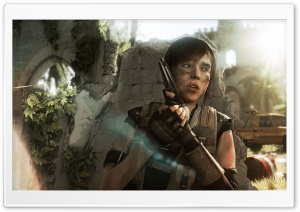 Beyond Two Souls Under Attack HD Wide Wallpaper for Widescreen
