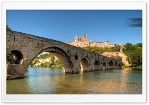 Beziers, Languedoc-Roussillon, France HD Wide Wallpaper for Widescreen