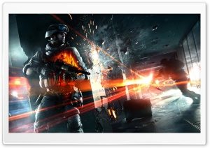 BF3: Close Quarters HD Wide Wallpaper for Widescreen