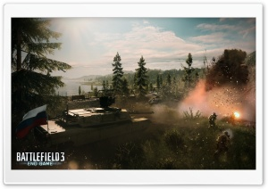 BF3 End Game HD Wide Wallpaper for Widescreen