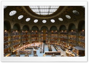 Bibliotheque Nationale de France HD Wide Wallpaper for 4K UHD Widescreen desktop & smartphone
