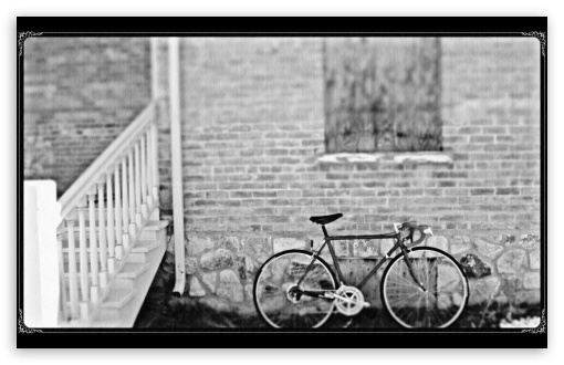 Bicycle Black & White HD wallpaper for Wide 16:10 5:3 Widescreen WHXGA WQXGA WUXGA WXGA WGA ; HD 16:9 High Definition WQHD QWXGA 1080p 900p 720p QHD nHD ; UHD 16:9 WQHD QWXGA 1080p 900p 720p QHD nHD ; Standard 4:3 5:4 3:2 Fullscreen UXGA XGA SVGA QSXGA SXGA DVGA HVGA HQVGA devices ( Apple PowerBook G4 iPhone 4 3G 3GS iPod Touch ) ; iPad 1/2/Mini ; Mobile 4:3 5:3 3:2 16:9 5:4 - UXGA XGA SVGA WGA DVGA HVGA HQVGA devices ( Apple PowerBook G4 iPhone 4 3G 3GS iPod Touch ) WQHD QWXGA 1080p 900p 720p QHD nHD QSXGA SXGA ;