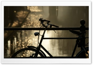 Bicycle Bokeh HD Wide Wallpaper for Widescreen