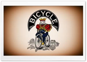 Bicycle Cards Rider Ultra HD Wallpaper for 4K UHD Widescreen desktop, tablet & smartphone
