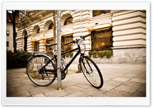 Bicycle, City Ultra HD Wallpaper for 4K UHD Widescreen desktop, tablet & smartphone