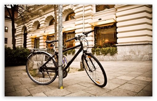 Bicycle, City HD wallpaper for Standard 4:3 5:4 Fullscreen UXGA XGA SVGA QSXGA SXGA ; Wide 16:10 5:3 Widescreen WHXGA WQXGA WUXGA WXGA WGA ; HD 16:9 High Definition WQHD QWXGA 1080p 900p 720p QHD nHD ; Other 3:2 DVGA HVGA HQVGA devices ( Apple PowerBook G4 iPhone 4 3G 3GS iPod Touch ) ; Mobile VGA WVGA iPhone iPad PSP Phone - VGA QVGA Smartphone ( PocketPC GPS iPod Zune BlackBerry HTC Samsung LG Nokia Eten Asus ) WVGA WQVGA Smartphone ( HTC Samsung Sony Ericsson LG Vertu MIO ) HVGA Smartphone ( Apple iPhone iPod BlackBerry HTC Samsung Nokia ) Sony PSP Zune HD Zen ; Tablet 2 Android ;