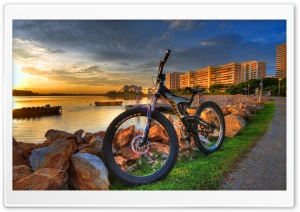 Bicycle HDR HD Wide Wallpaper for Widescreen