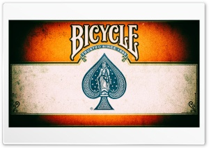 Bicycle Playing Cards Ultra HD Wallpaper for 4K UHD Widescreen desktop, tablet & smartphone