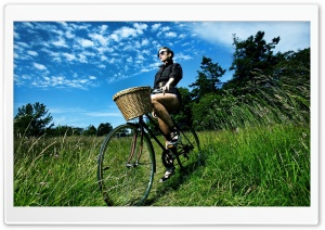 Bicycle Ride HD Wide Wallpaper for 4K UHD Widescreen desktop & smartphone