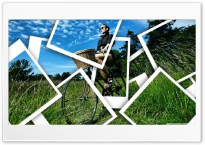 Bicycle Ride Ultra HD Wallpaper for 4K UHD Widescreen desktop, tablet & smartphone