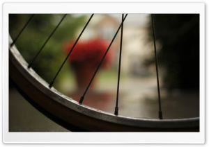 Bicycle Wheel HD Wide Wallpaper for Widescreen